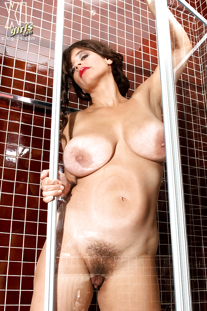 Tits hairy pussy shower group that