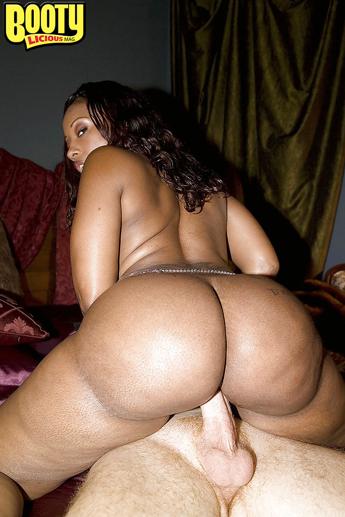 Big black ass get fucked hard