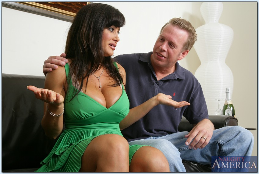 Has touched cheating wife lisa ann black cock