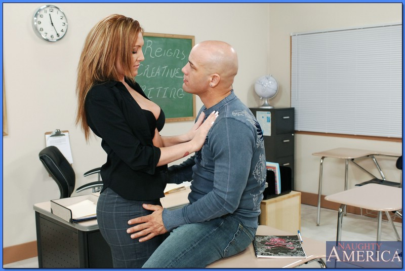 Pornstar Morgan Reigns In My First Sex Teacher