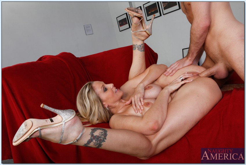 Milf gets hammered by big cock