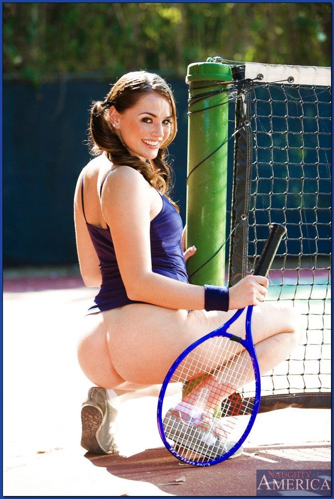 stripper tennis skirt