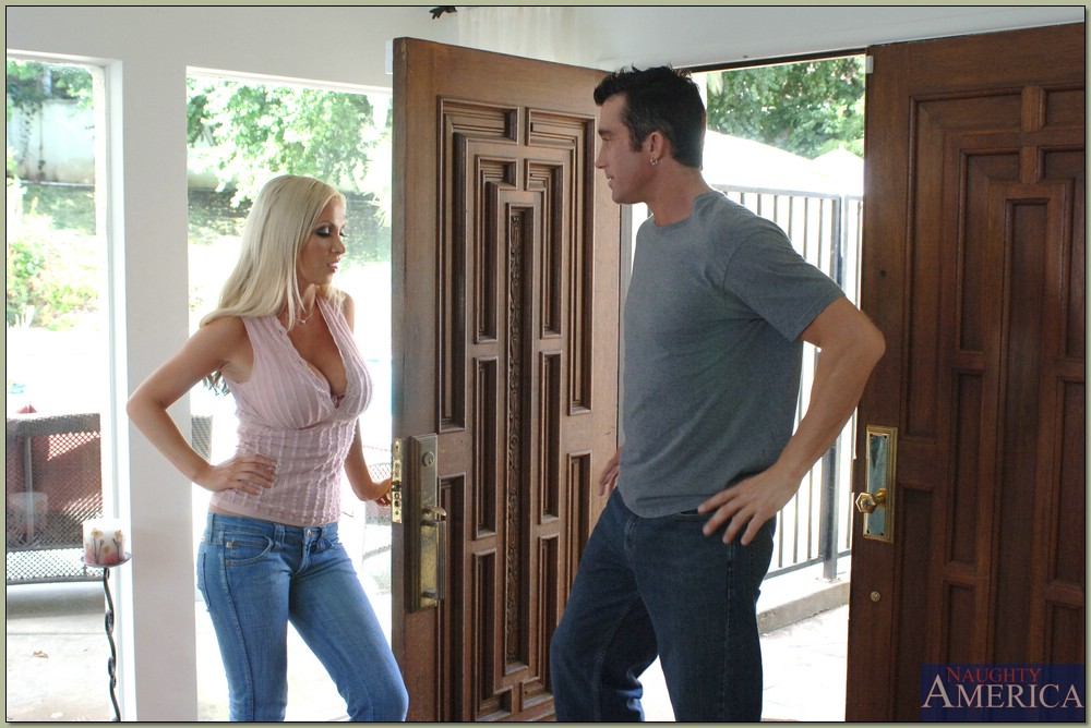 nikki benz & billy glide in neighbor affair