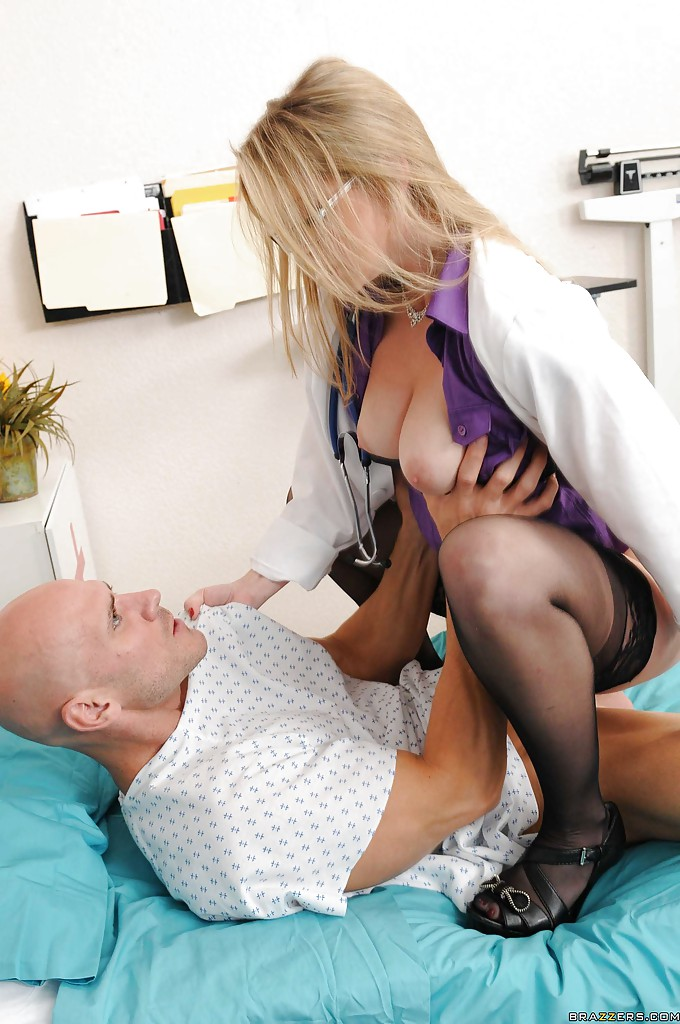 Nurse fucks you and you impregnate her 4