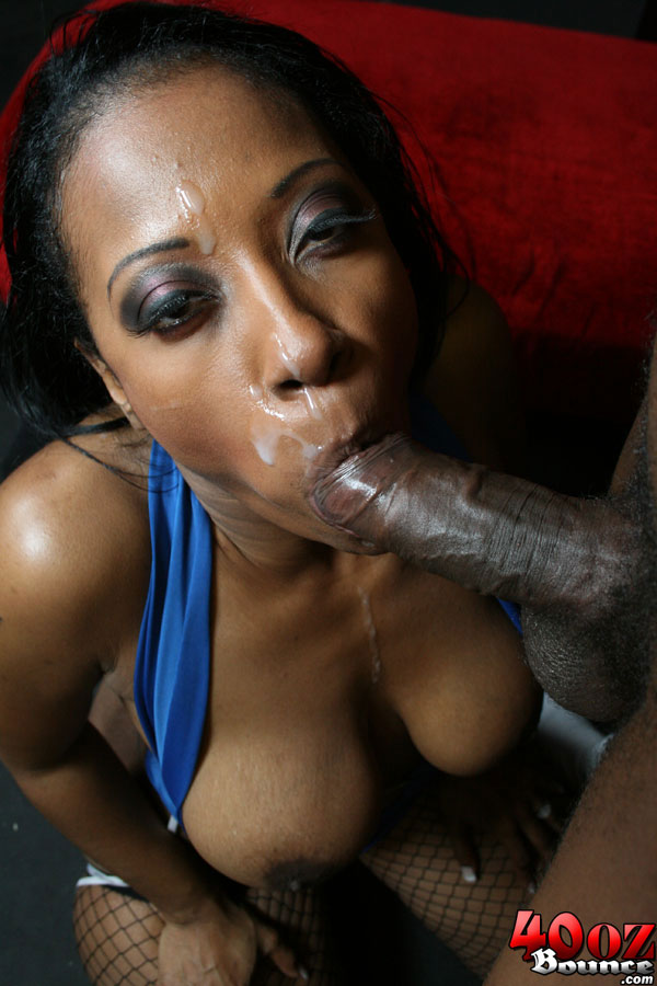 Ebony MILF with a big ass Cherokee rides a big cock in ...