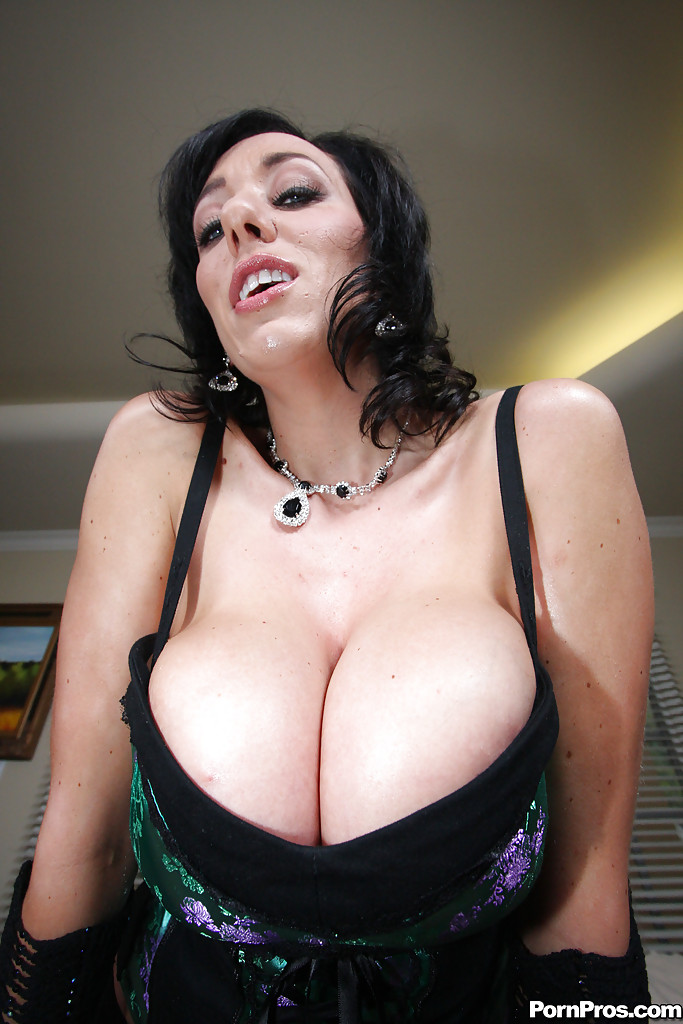 Massive boobs in pantyhose