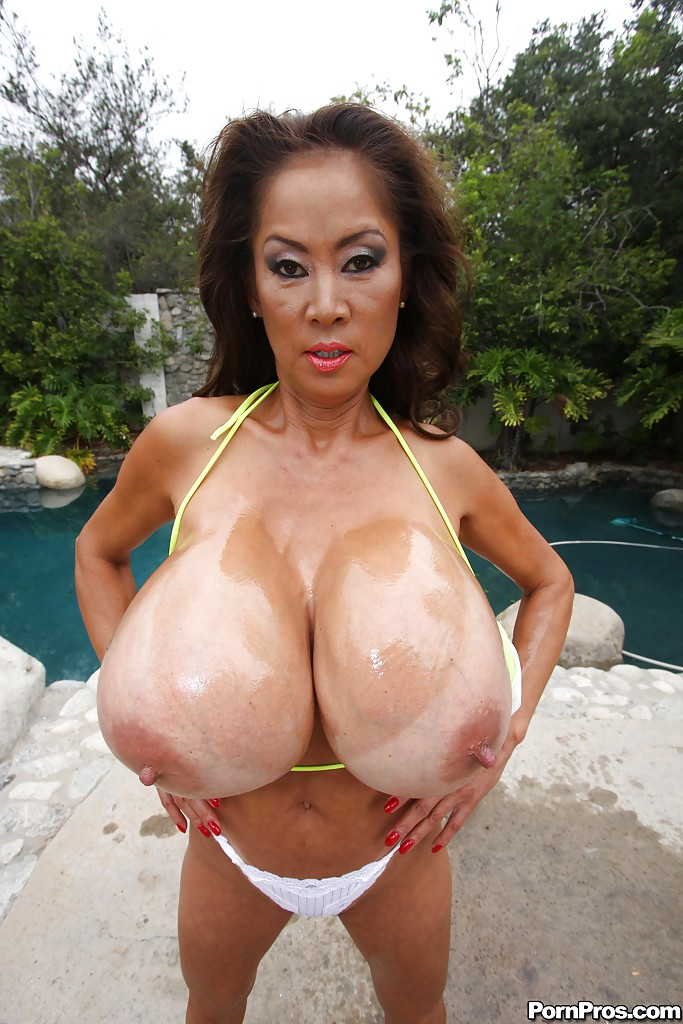 huge mature melons