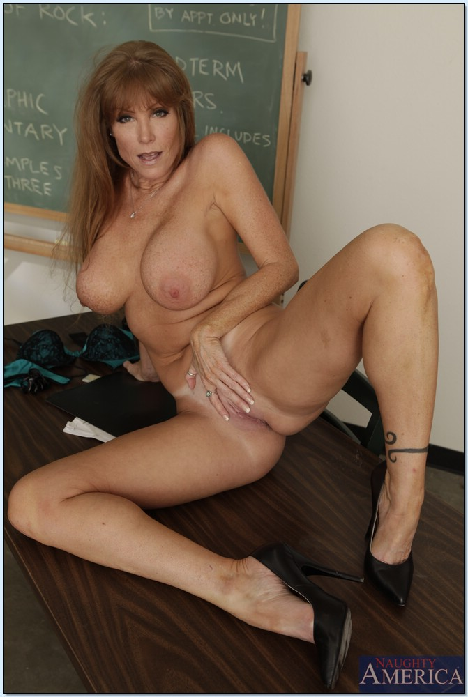 Big tits mature teacher