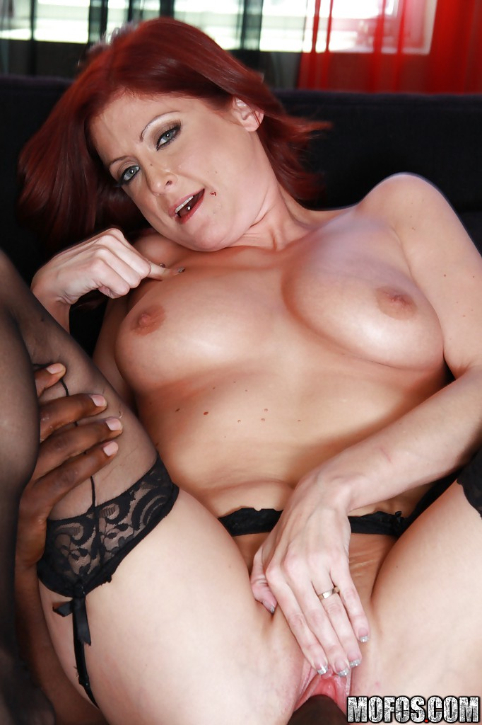 thick red head milf