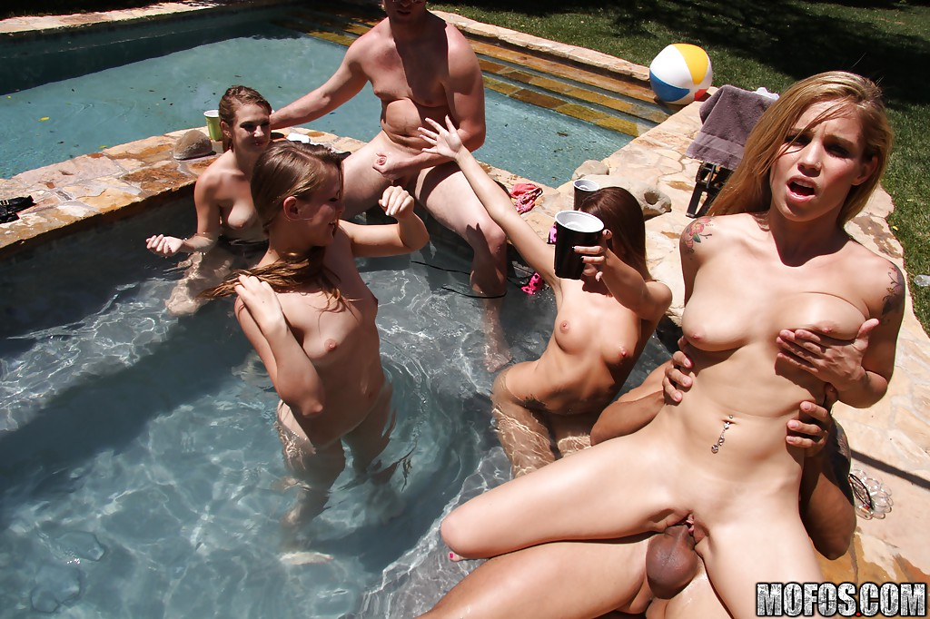 pool party slut