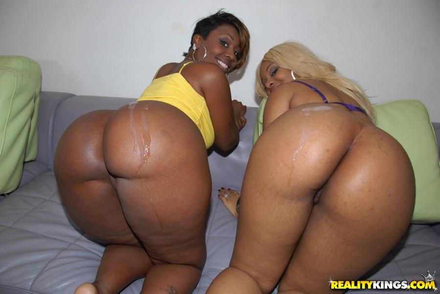 The Black butt orgy