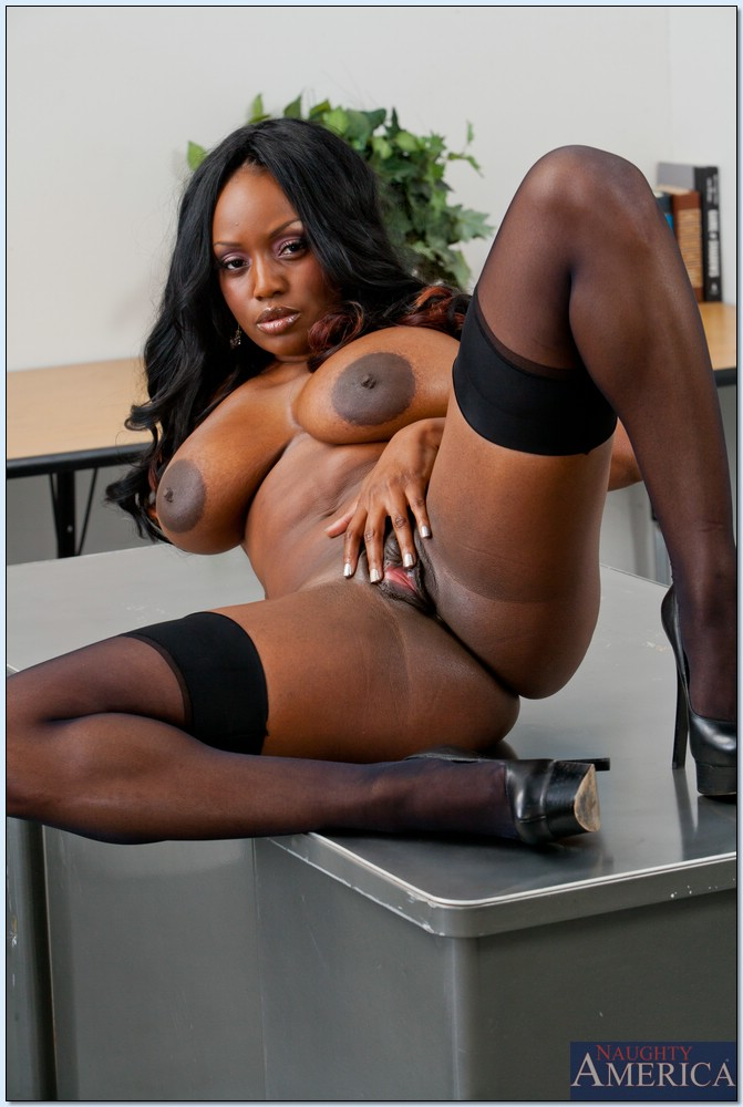 Ebony big tit teacher