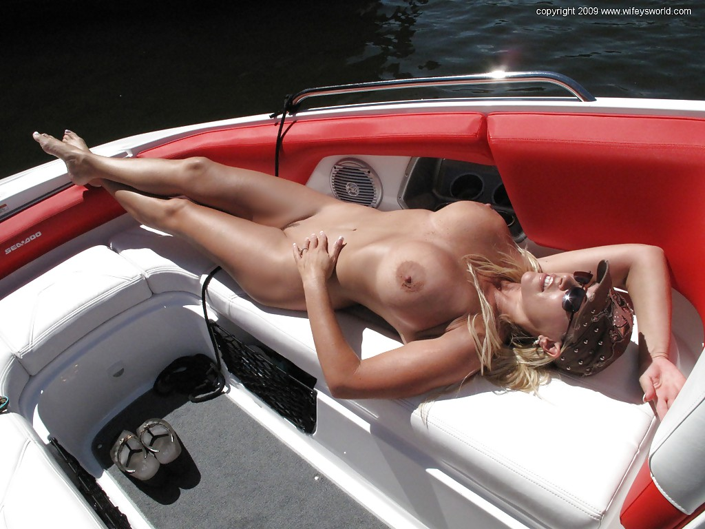 from Samson boat babe nude party