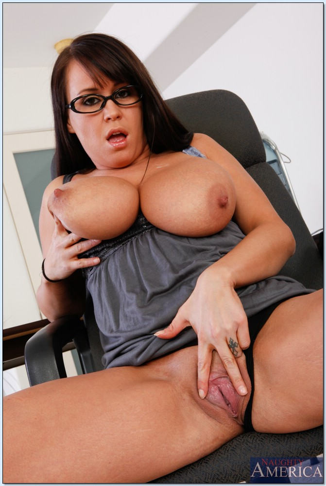 Chubby Milf In Glasses Brandy Talore Exposing Her Flabby Tits And