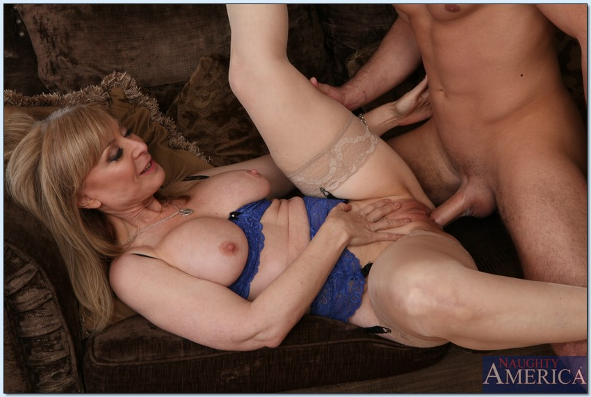 Mature Seduces Younger Guy Grandma Seduces Young