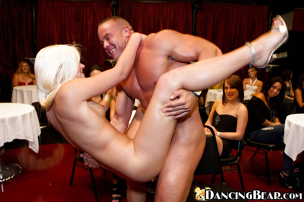 Male stripper gets fucked