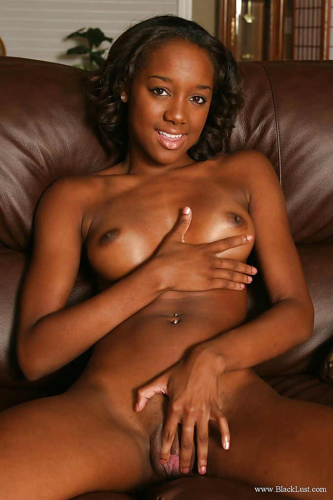Simply matchless Ebony stripper naked self shot