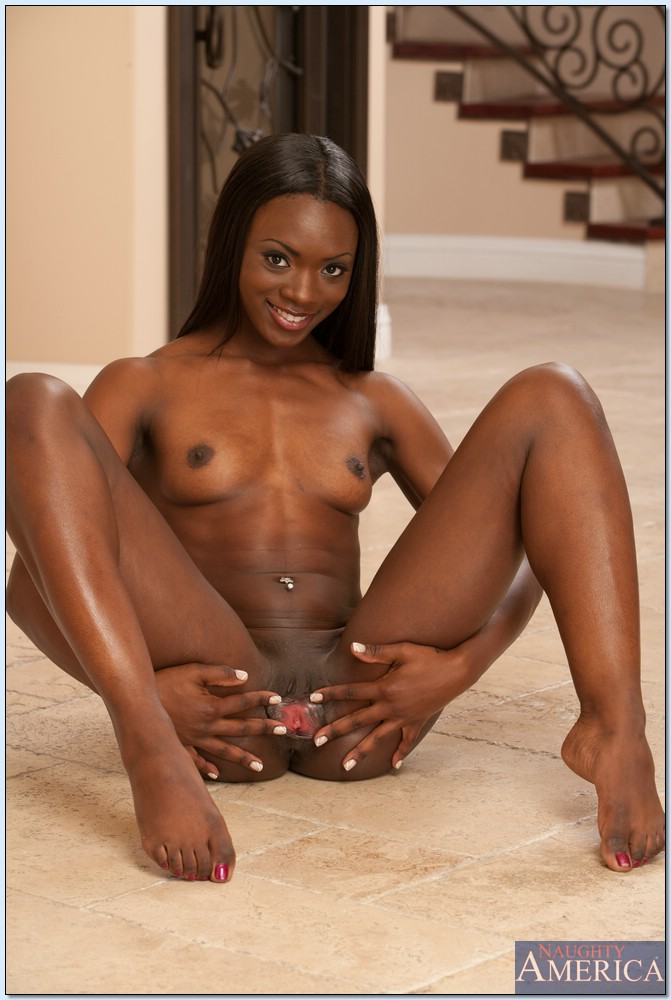 Sexy Black Teen Slut