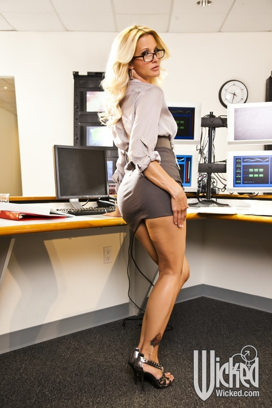 Puremature office milf home early for sexual