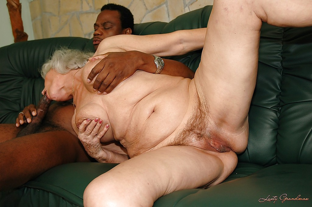 cock black Granny big