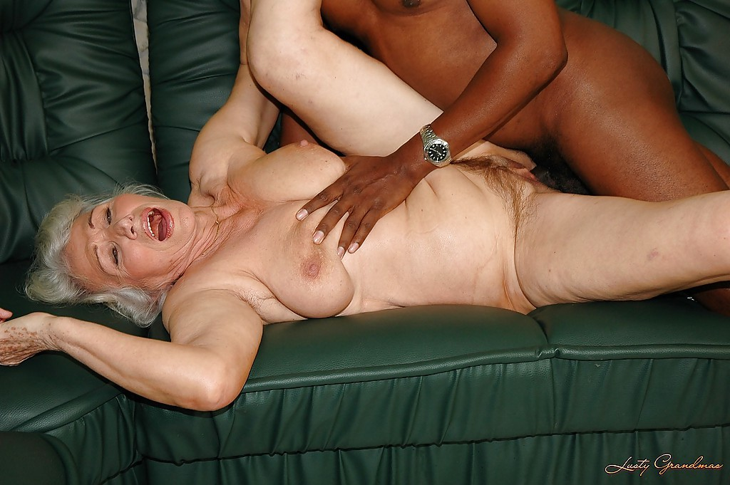 Granny Playing With Big Cock