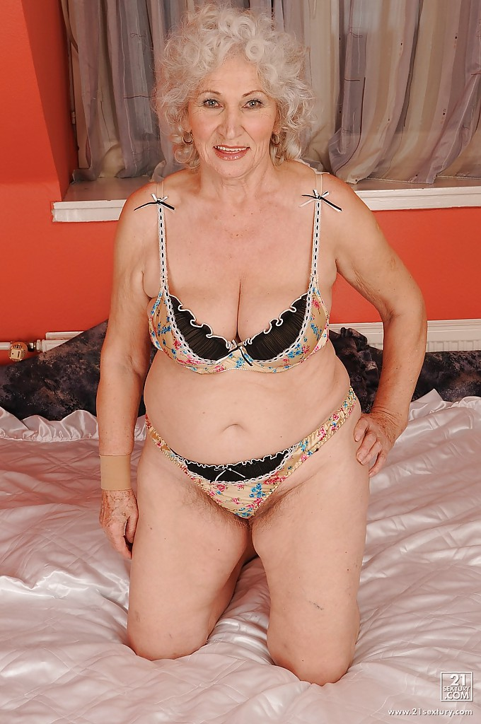 Granny panties strip