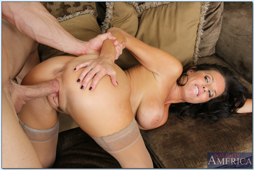 Yet did In her hot pantyhose fucks cock