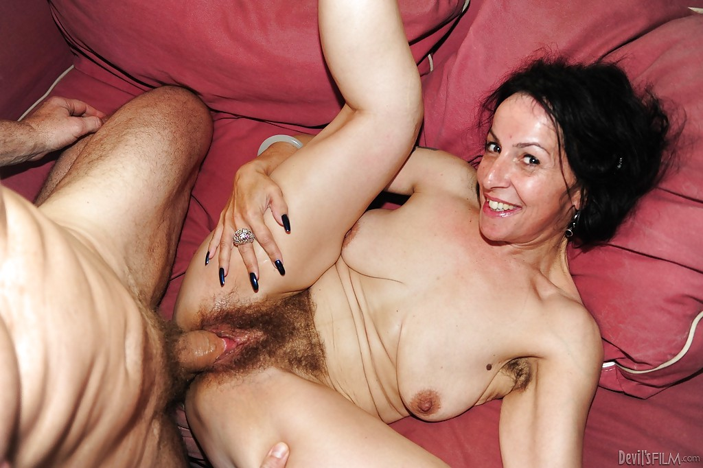 Nina swiss hairy mature