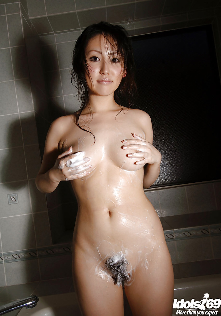 Where Busty japanese in stockings