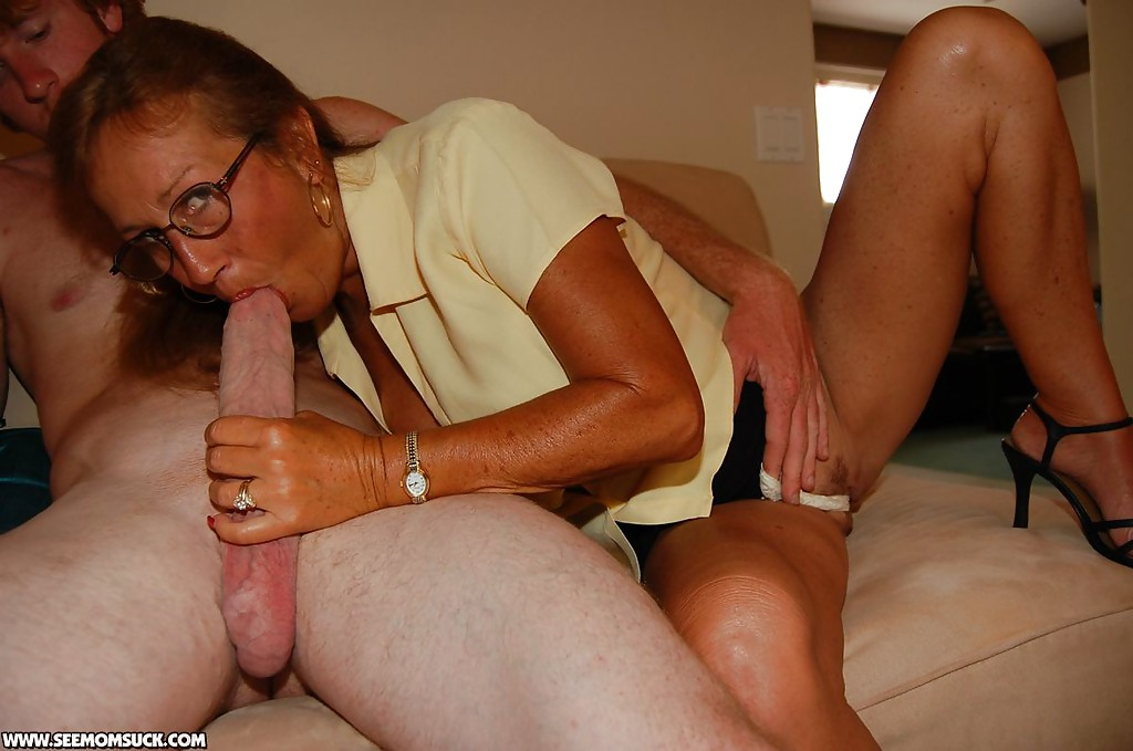 You have Grandmother sucks young cock