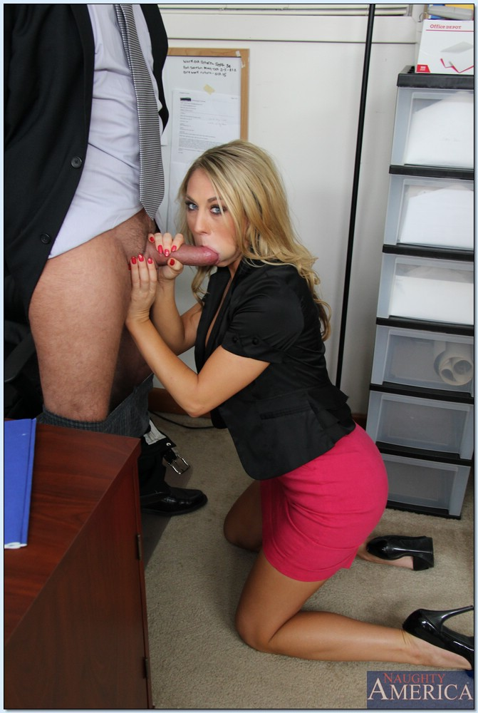 Hot milf boss gets titty fucked and fisted 6