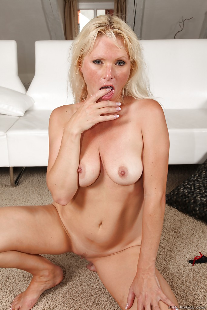 Anally drilled milf takes on two black wangs 6