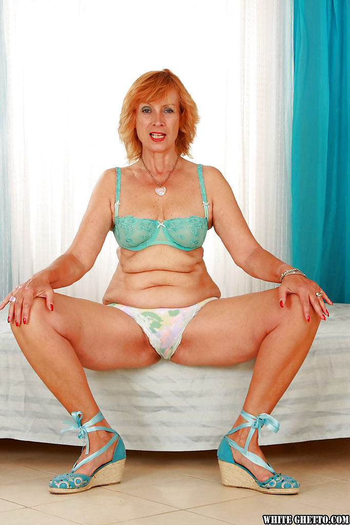 image Hairy granny with big boobs fucked on a scale