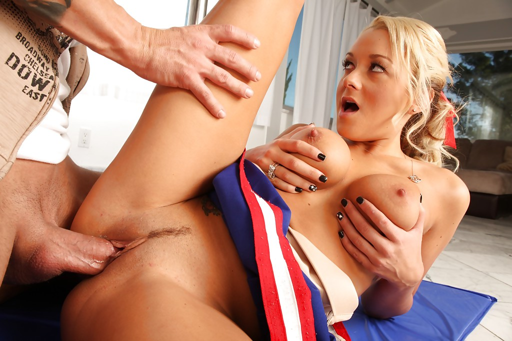 cheerleader titty fuck