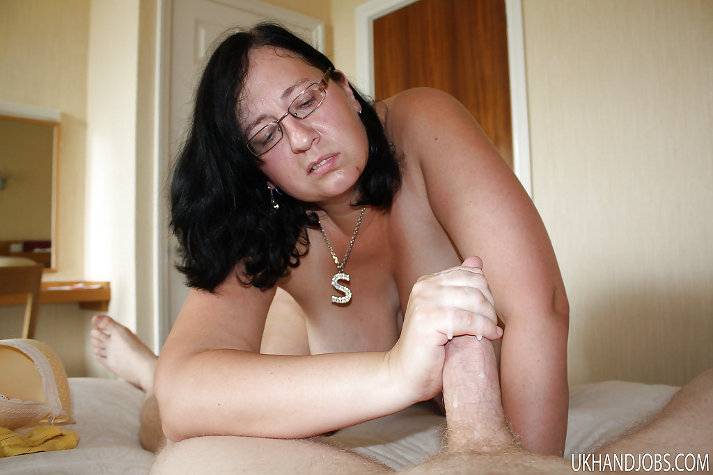 Where mature hairy glasses brunette granny recommend you