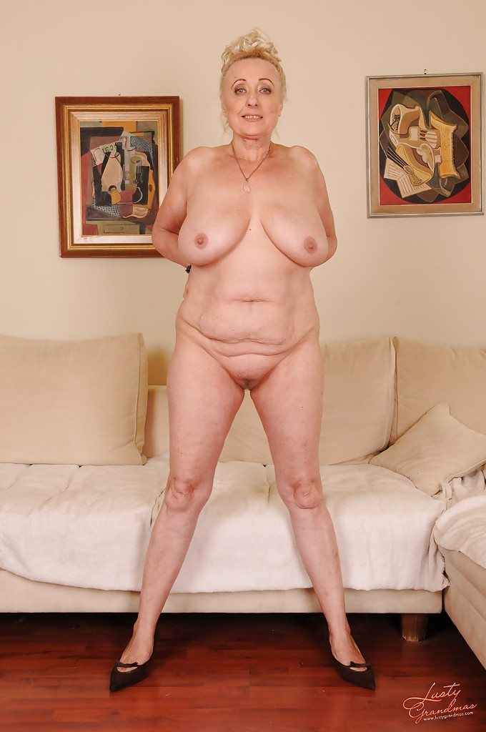 Grannies stripping naked agree, remarkable