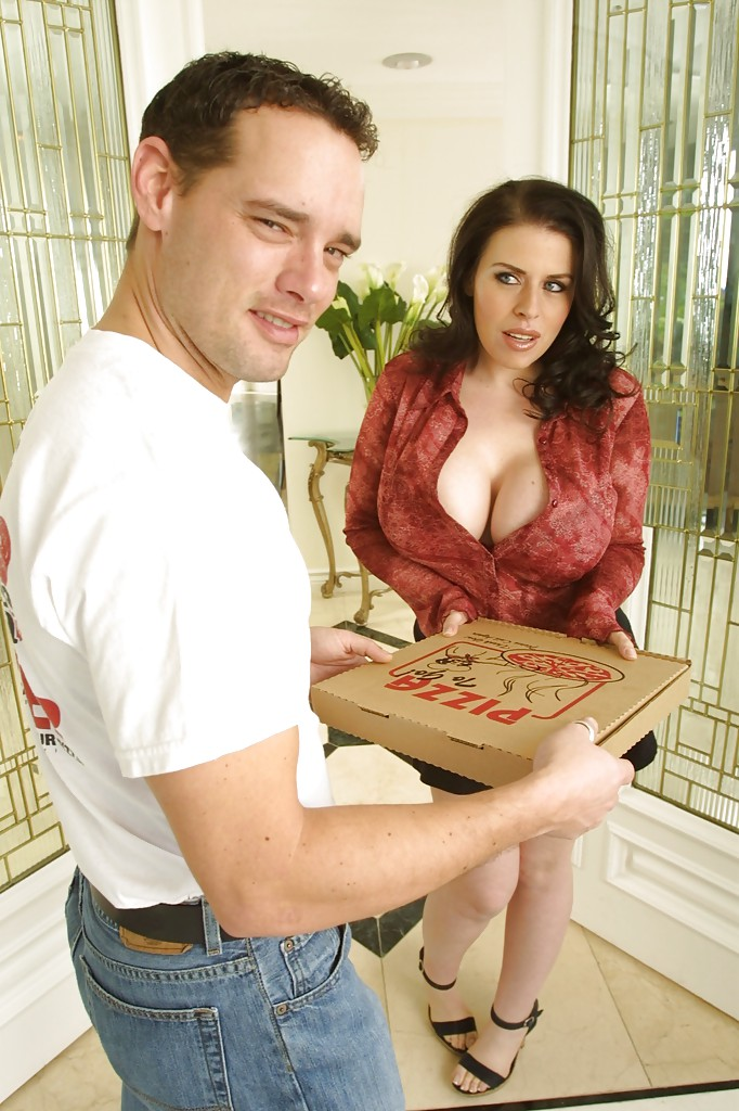 galleries sassy bombshell daphne rosen has some anal fun with a horny pizzaguy