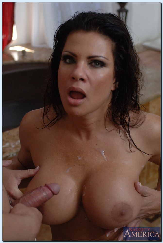 The Cumshot on teri weigel POV shot