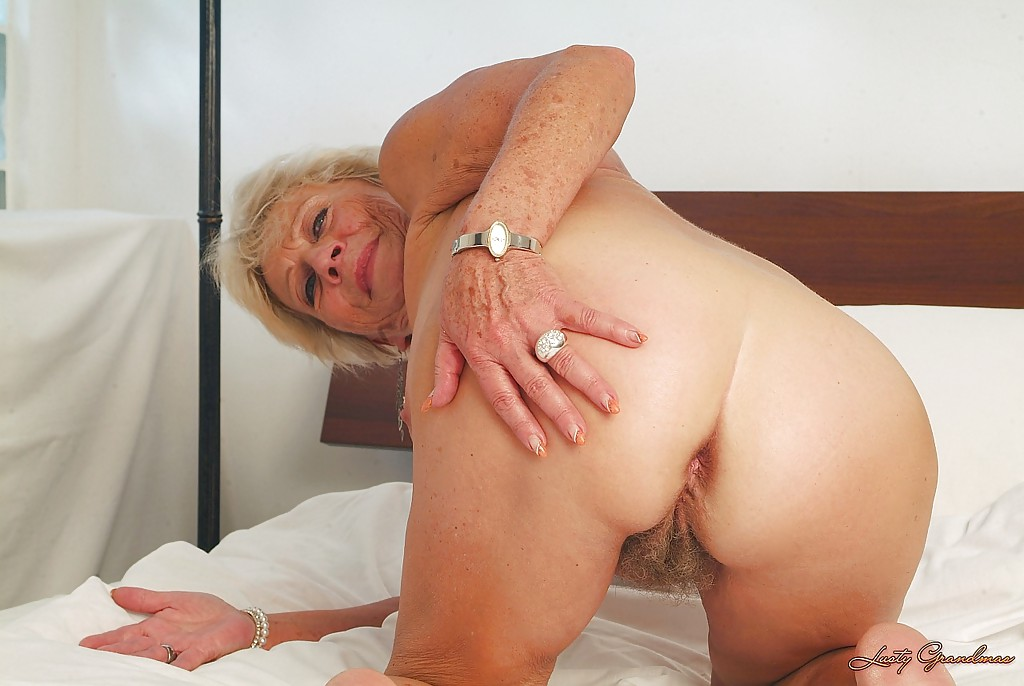 Assured, that Granny spreads her legs site question