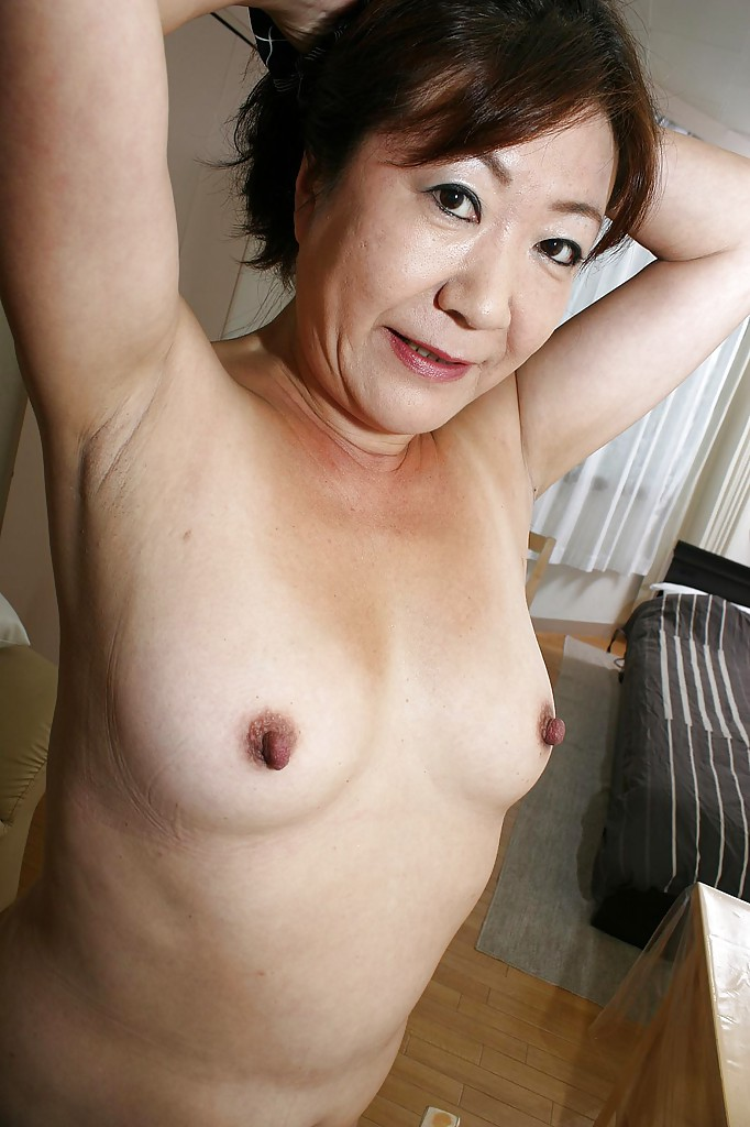 Mature hairy asians