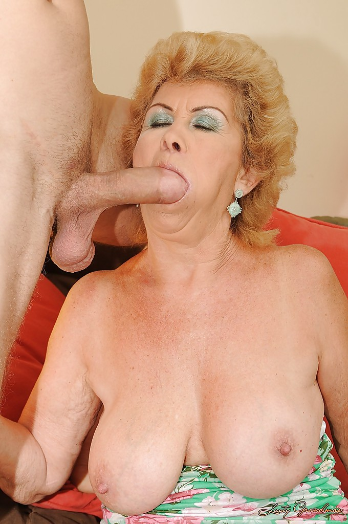 Granny fucks huge cock final, sorry
