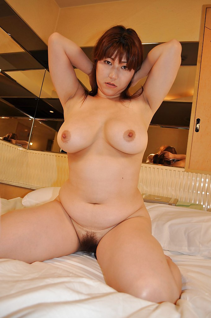 Spy on chubby asian milf