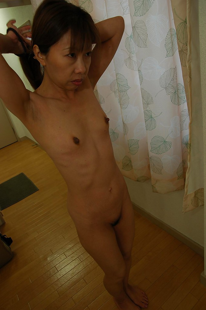 Asian milf in the shower