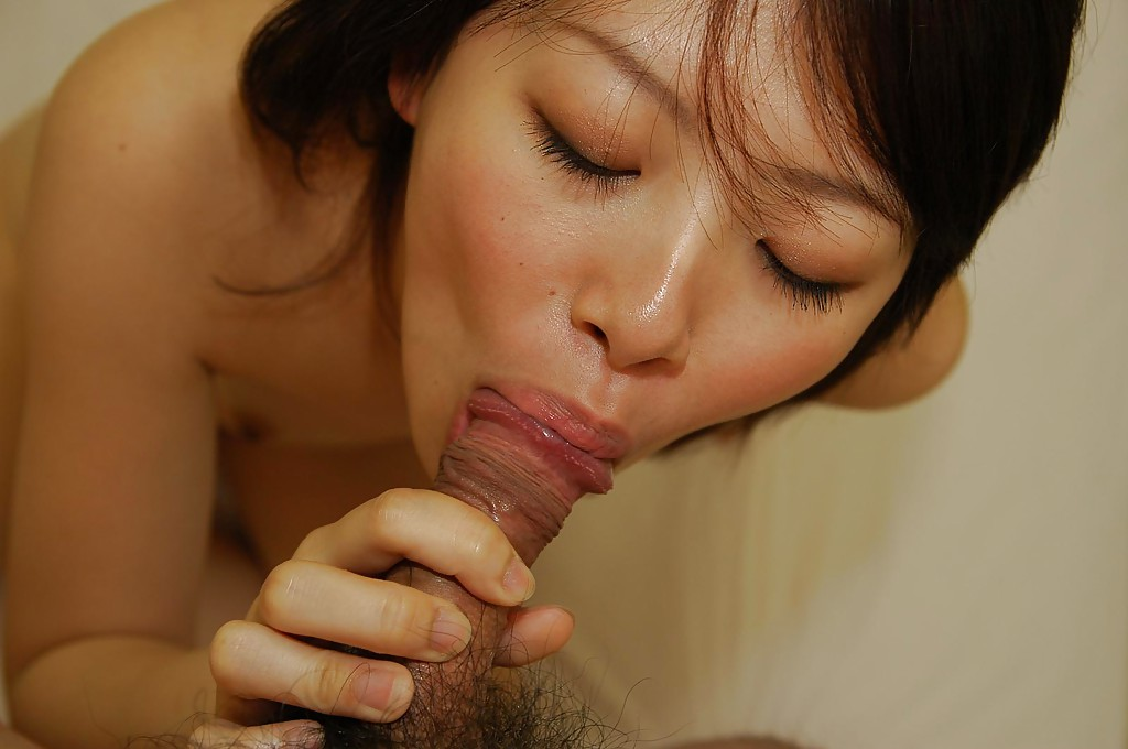 Asian Teen Giving Head