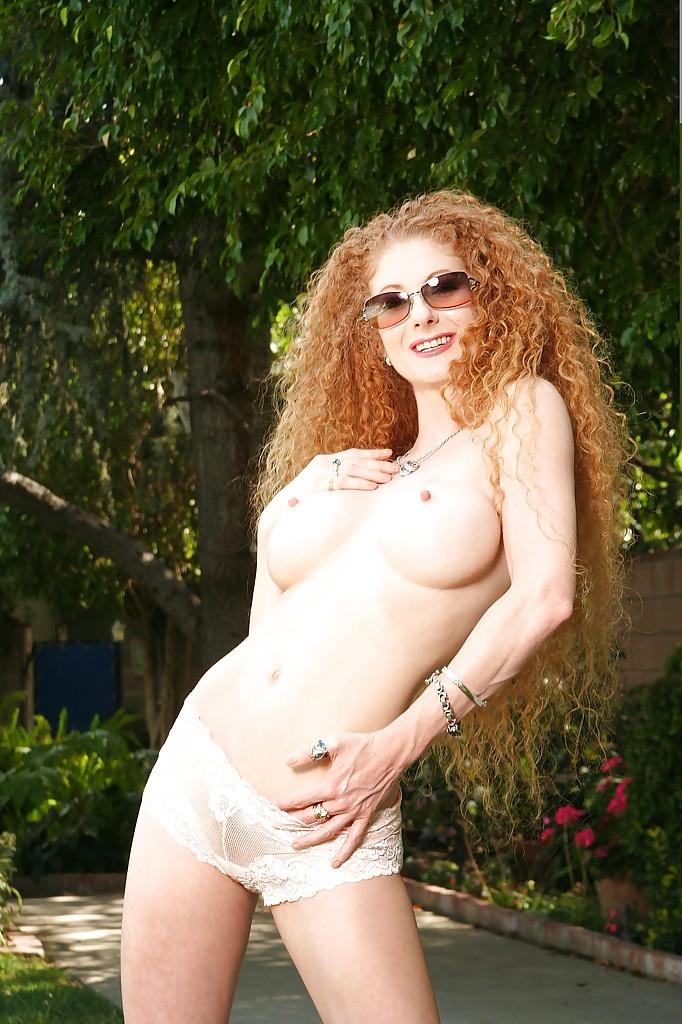 Not Curly hair redhead roommate nude