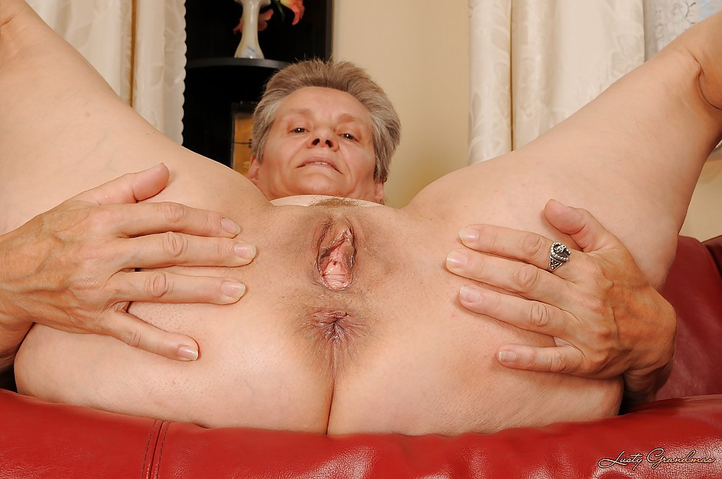 Lusty grandmas spread