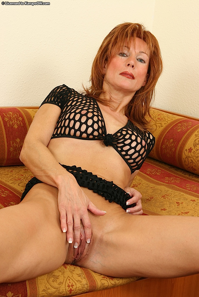Nina mature redhead was specially