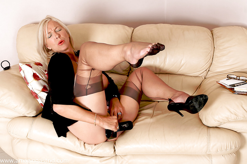Business mature stockings not