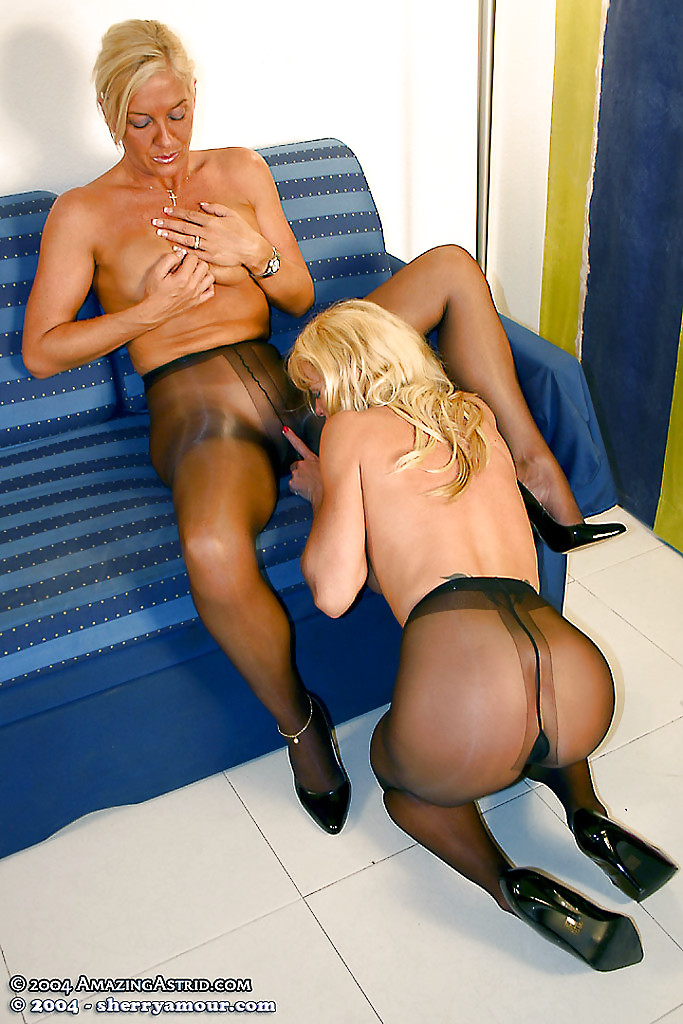 Not know. lesbian nylons older think
