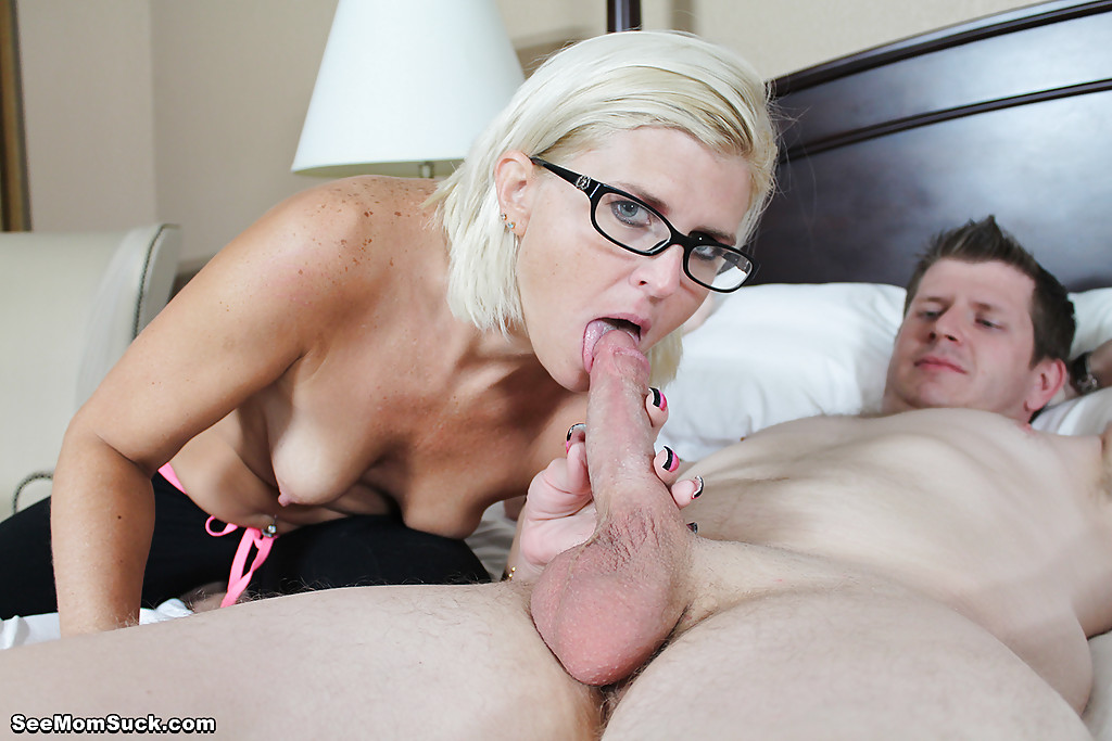 Mom Go Down On Son Dick & Swallow Whole Load Of
